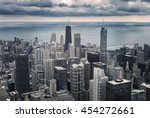 Chicago Downtown Cityscape Wit...