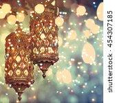lantern    Shutterstock . vector #454307185