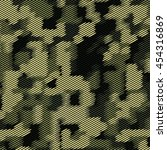 camouflage military halftone... | Shutterstock .eps vector #454316869