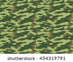 seamless camouflage pattern | Shutterstock . vector #454319791