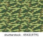 seamless camouflage pattern | Shutterstock . vector #454319791