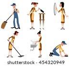 vector illustration of a... | Shutterstock .eps vector #454320949
