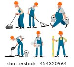 vector illustration image of a... | Shutterstock .eps vector #454320964