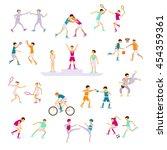 summer 2016 sports athletes set ...   Shutterstock .eps vector #454359361