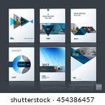 brochure template layout  cover ... | Shutterstock .eps vector #454386457