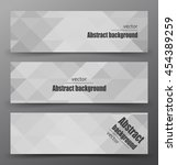 abstract mosaic banner.. | Shutterstock .eps vector #454389259