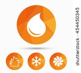 hvac icons. heating ...   Shutterstock .eps vector #454450345