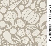 vector seamless pattern with... | Shutterstock .eps vector #454461481