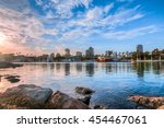 long beach harbor | Shutterstock . vector #454467061
