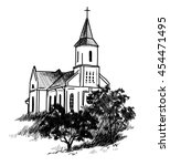Catholic Church . Vector...