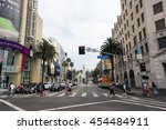 hollywood  ca  7 16 2016 ... | Shutterstock . vector #454484911