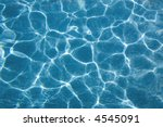 top view at a swimmingpool with ... | Shutterstock . vector #4545091
