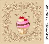 vector illustration colorful... | Shutterstock .eps vector #454527505