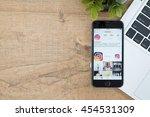 chiang mai  thailand   jul 18... | Shutterstock . vector #454531309