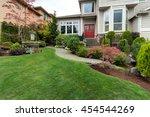 Frontyard Garden Of House With...