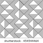 abstract geometric pattern.... | Shutterstock .eps vector #454544464