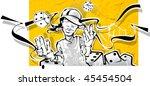 gambler | Shutterstock . vector #45454504