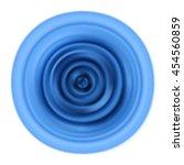 vibrations. blue rippled waves. ...   Shutterstock .eps vector #454560859