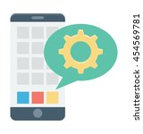 mobile development vector icon