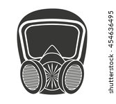 mask protection work icon... | Shutterstock .eps vector #454636495