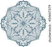 hand drawn background. mandala. ...   Shutterstock .eps vector #454647379
