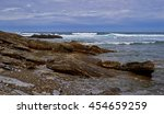 Rocky Coast Of The Ocean
