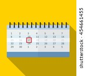 calendar flat icon illustration ...