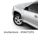 silver suv car   cropped shot ... | Shutterstock . vector #454672351