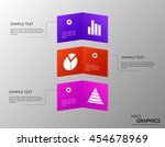 abstract colorful cards. vector ... | Shutterstock .eps vector #454678969