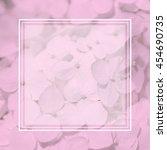 white fluffy hydrangeas.... | Shutterstock . vector #454690735