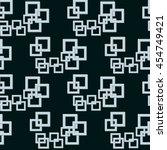 geometric hi tech seamless... | Shutterstock .eps vector #454749421
