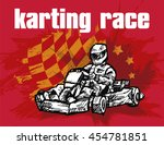karting race | Shutterstock .eps vector #454781851