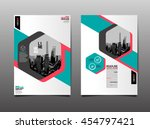 layout design template  cover... | Shutterstock .eps vector #454797421