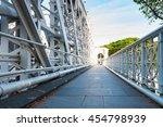 Walkway On Anderson Bridge At...