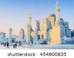 harbin  china   january 11 ...   Shutterstock . vector #454800835