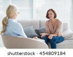 Woman Talking To Therapist On...