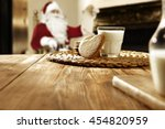 Cookies And Milk Glass