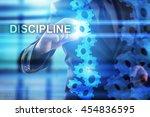 businessman is selecting... | Shutterstock . vector #454836595