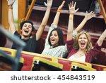 Friends Carnival Ride Fun Hand...