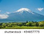 Beautiful View Mt.fuji With...