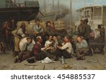 the longshoremen's noon  by... | Shutterstock . vector #454885537