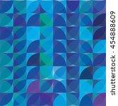 pattern of circle segment... | Shutterstock .eps vector #454888609