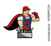 handyman | Shutterstock .eps vector #454899124
