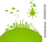 eco friendly concept  green
