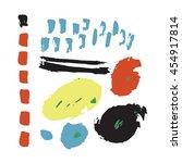 dinosaur card print | Shutterstock .eps vector #454917814