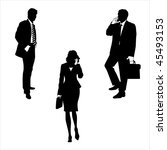 business people | Shutterstock . vector #45493153