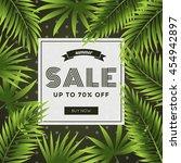 summer sale  discount special... | Shutterstock .eps vector #454942897