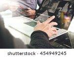 business team present. photo...   Shutterstock . vector #454949245