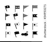 flag icon illustration design | Shutterstock .eps vector #454953271