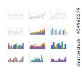 infographic elements collection ... | Shutterstock .eps vector #454960279